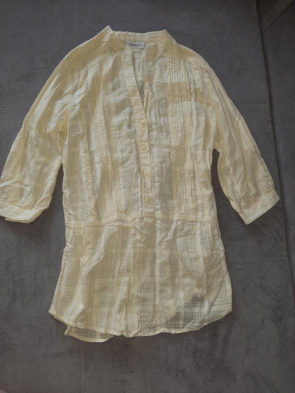 koszula pastelowy żółty