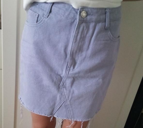 Spódnice Spódnica jeansowa Missguided
