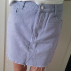Spódnica jeansowa Missguided