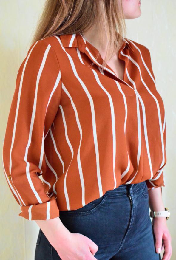 Bluzka koszulowa w paski Primark
