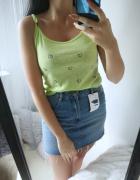 Bluzka koszulka damska z napisami neon M 38...