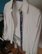 Koszula damska z długim rekawem biała rozmiar M...