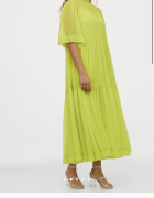 Sukienka neonowa h&m...