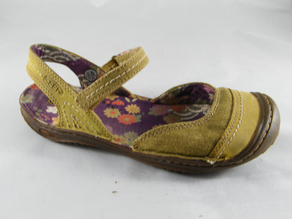 Keen oliwkowe sandały