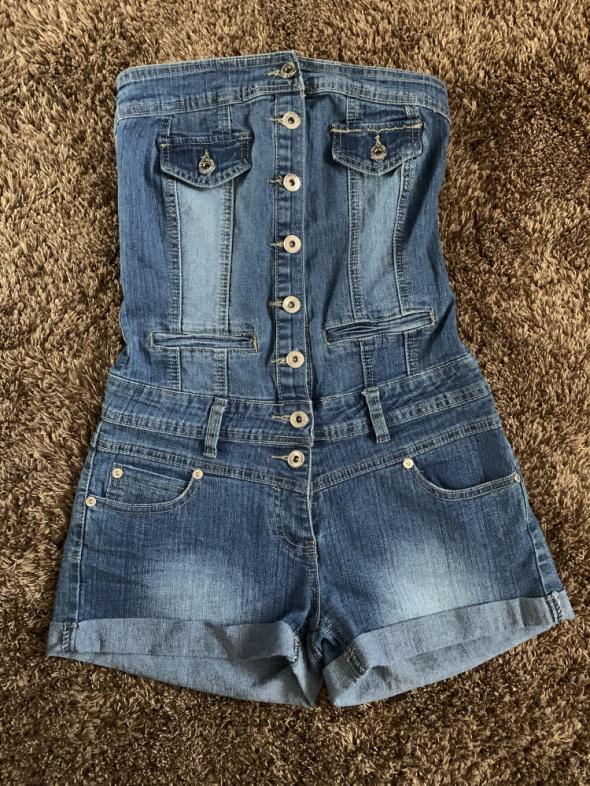 Kombinezon jeansowy M...