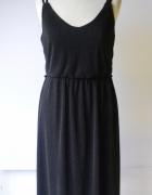 Sukienka Czarna Plisowana Esmara M 40 42 Plisa Wizytowa...