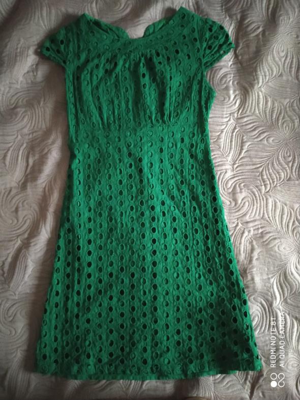 Zielona sukienka TOPSHOP...