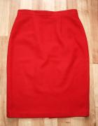 Czerwona spódnica S...