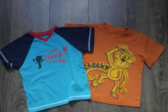 Dwie bluzeczki 92 98