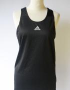Koszulka Sportowa Adidas Running S 36 Bluzka Czarna Sport...