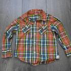 Koszulka dla chłopca krata kolorowa 104