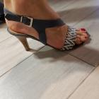 Eleganckie skórzane sandały Zych Staszewski rozm 36