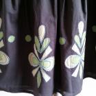 PROMOD S M zielona spódniczka