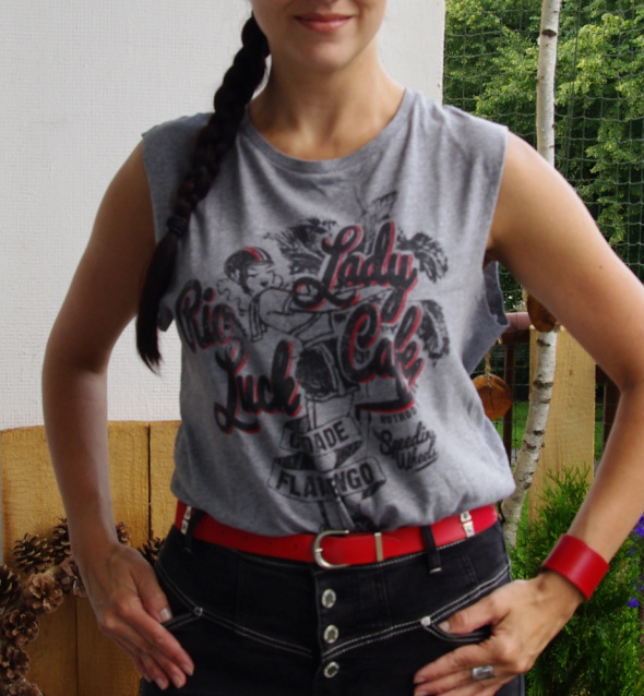 koszulka lady pi up