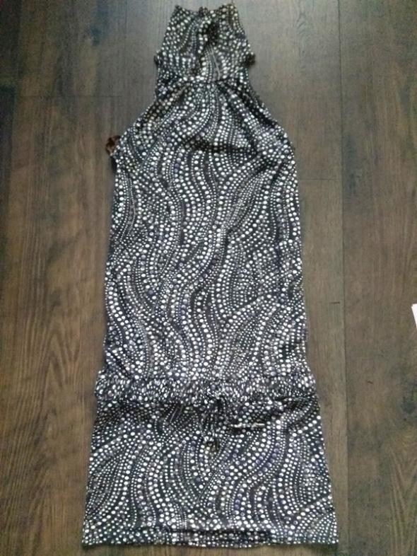 Sukienka tunika brązowa tuba golf XS 34...