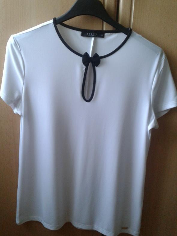 biała bluzka Mohito 32 nowa bez metki...