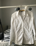 Biała koszula M L...