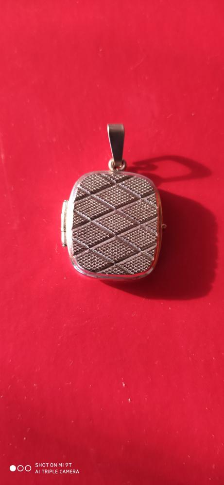 Sekretnik srebrny 925 RYT waga 651 g