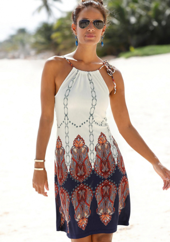 Beachtime urocza sukienka na lato 38...