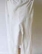 Legginsy Białe H&M Mama Ciążowe Brzuszek S 36 Spodenki...