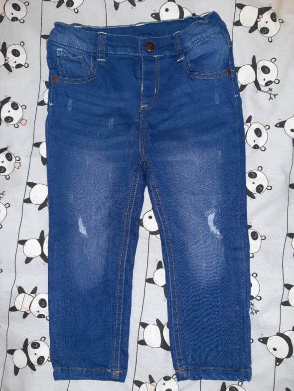 Nowe jeansy roz 98