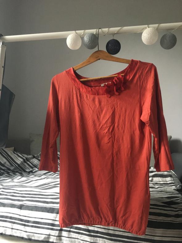 Pomarańczowa bluzka Orsay