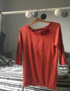Pomarańczowa bluzka Orsay...