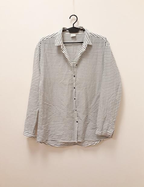 Gina Tricot koszula marynarska 100 bawełna prążek...