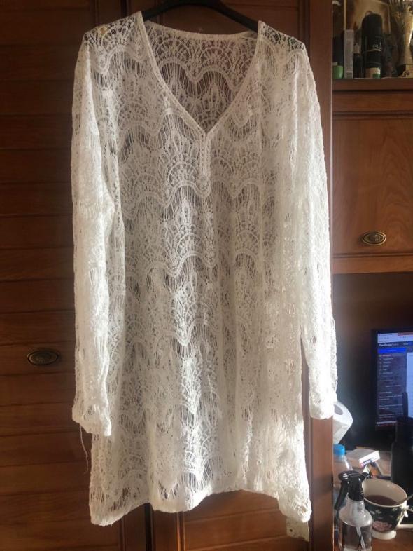 Nowa koronkowa sukienka dla puszystej 50 52
