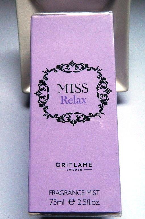 Mgiełka zapachowa Miss Relax Oriflame