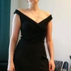 Czarna sukienka koktajlowa rozmiar M Bershka Nowa z metką