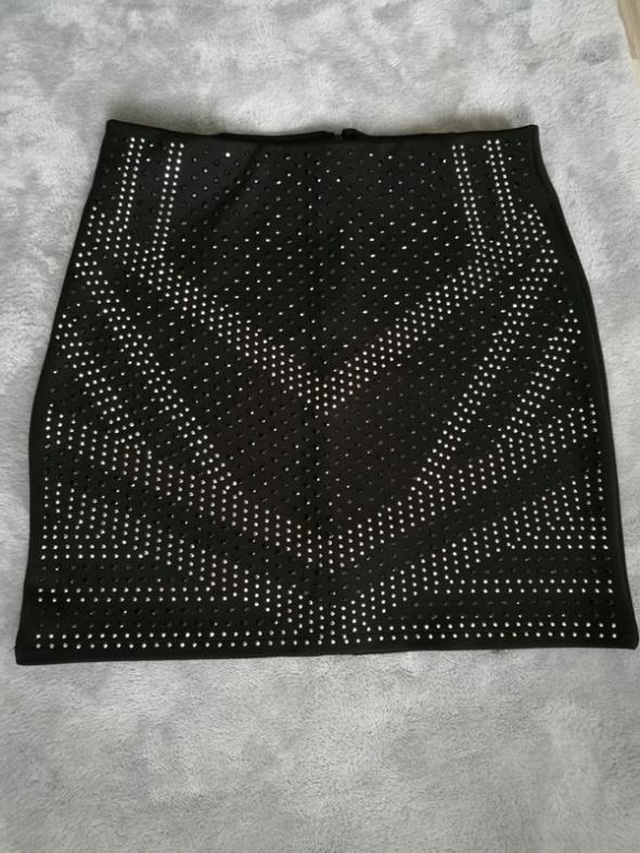 Spódnice Spódnica mini czarna rozmiar S House