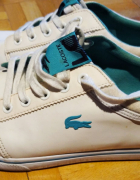 41 biale adidasy trampki LACOSTE