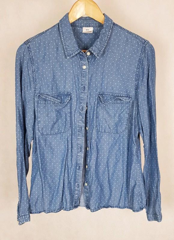 Koszula z lyocellu jeans 40 42 Max Collection...