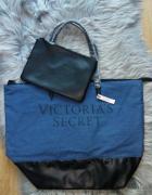 Torebka torba Victoria Secret jeansowa...