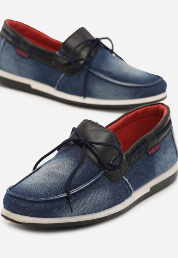 Męskie buty dżinsowe