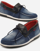 Męskie buty dżinsowe...