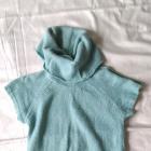 Sweter tunika pistacjowy Reserved golfik