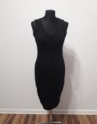 Czarna sukienka 36 Reserved nowa z metką...
