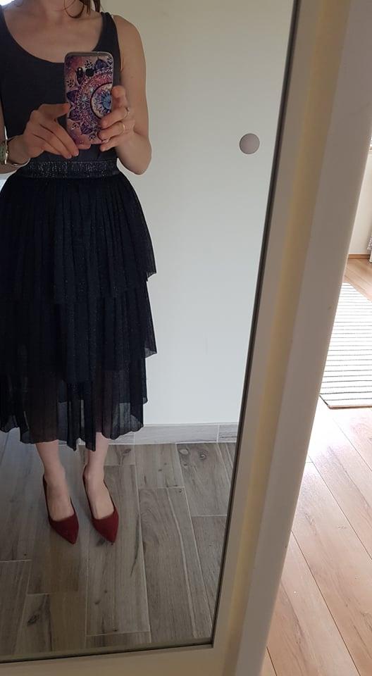Spódnica warstwowa Zara...