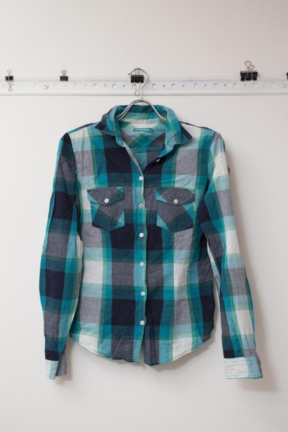 Koszule koszula w kratkę długi rękaw