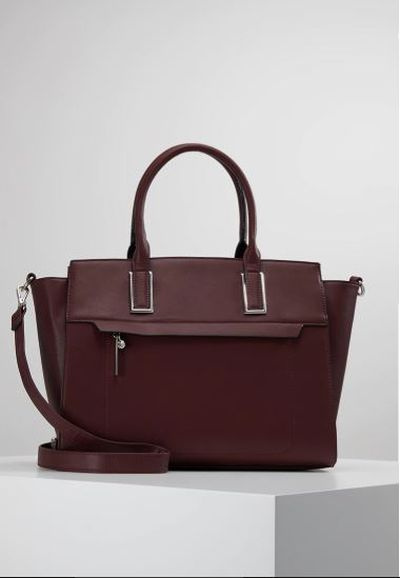 Zalando Anna field torebka dark red