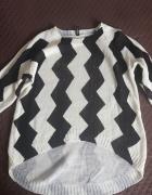 Sweter zygzaki H&M...