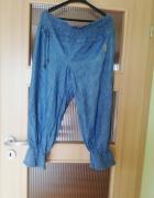spodnie z cienkiego jeansu...