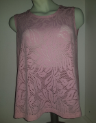 Ażurowa bluzeczka różowa 5XL...