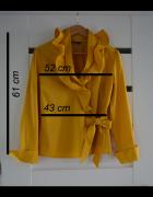 Bluzka koszula żółta musztardowa rozmiar 42...