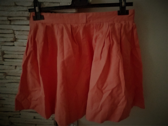 Spódnice spódniczka oranż mini Bershka