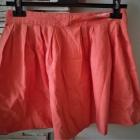 spódniczka oranż mini Bershka