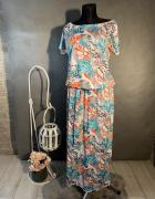 Sukienka letnoia w kolorowy print...
