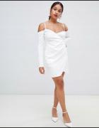Sukienka na ramiączka odkryte ramiona rozmiar S...